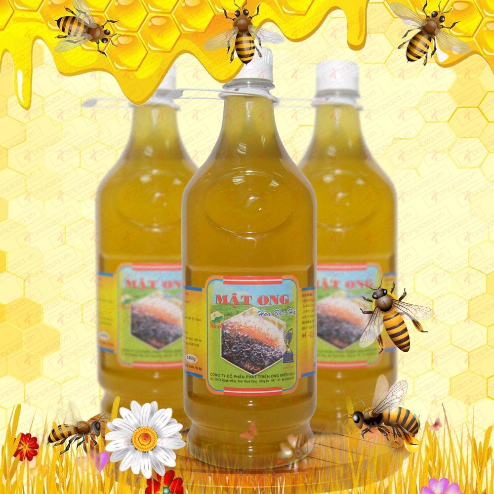 Cách phân biệt mật ong rừng hoa bạc hà chính hiệu