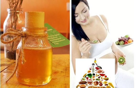 Lợi ích mật ong rừng nguyên chất mang lại cho phụ nữ mang thai