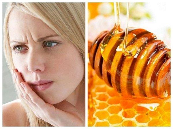 Mật ong có tác dụng tốt với người nhiệt miệng