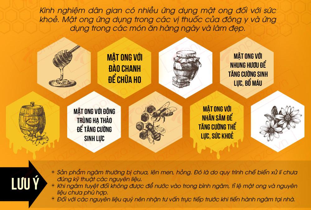 Mật ong hoa rừng đặc biệt 1000g (Chai thủy tinh) MO002 7