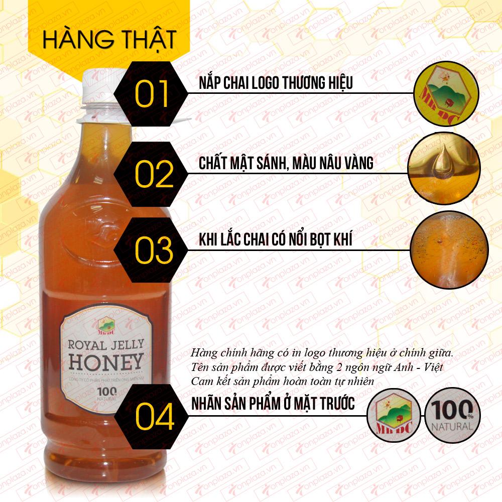 Mật ong hoa rừng sữa chúa đặc biệt xuất khẩu 1400g (Chai nhựa) MO009 1