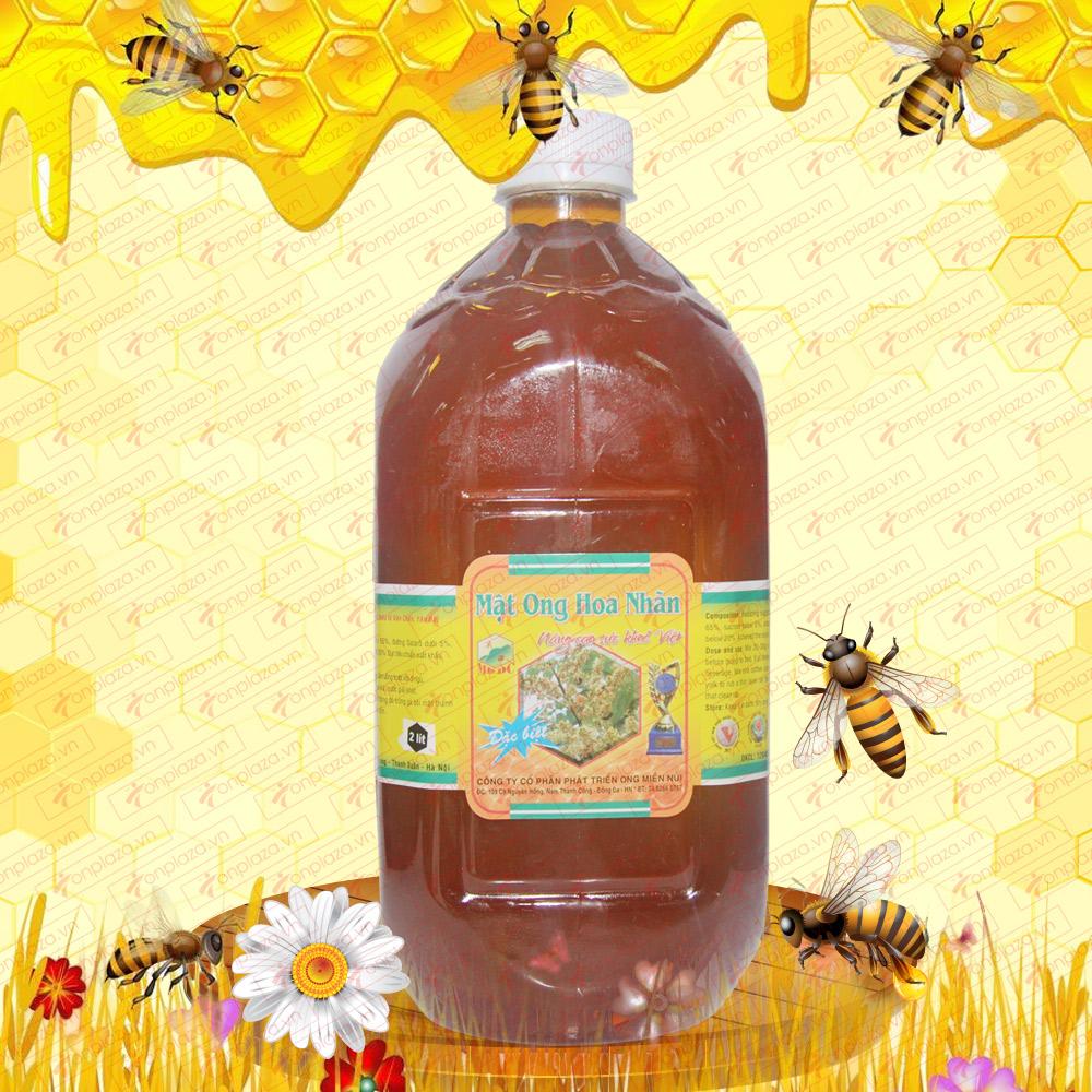 Mật ong rừng hoa nhãn 2 lit (Chai nhựa) M013
