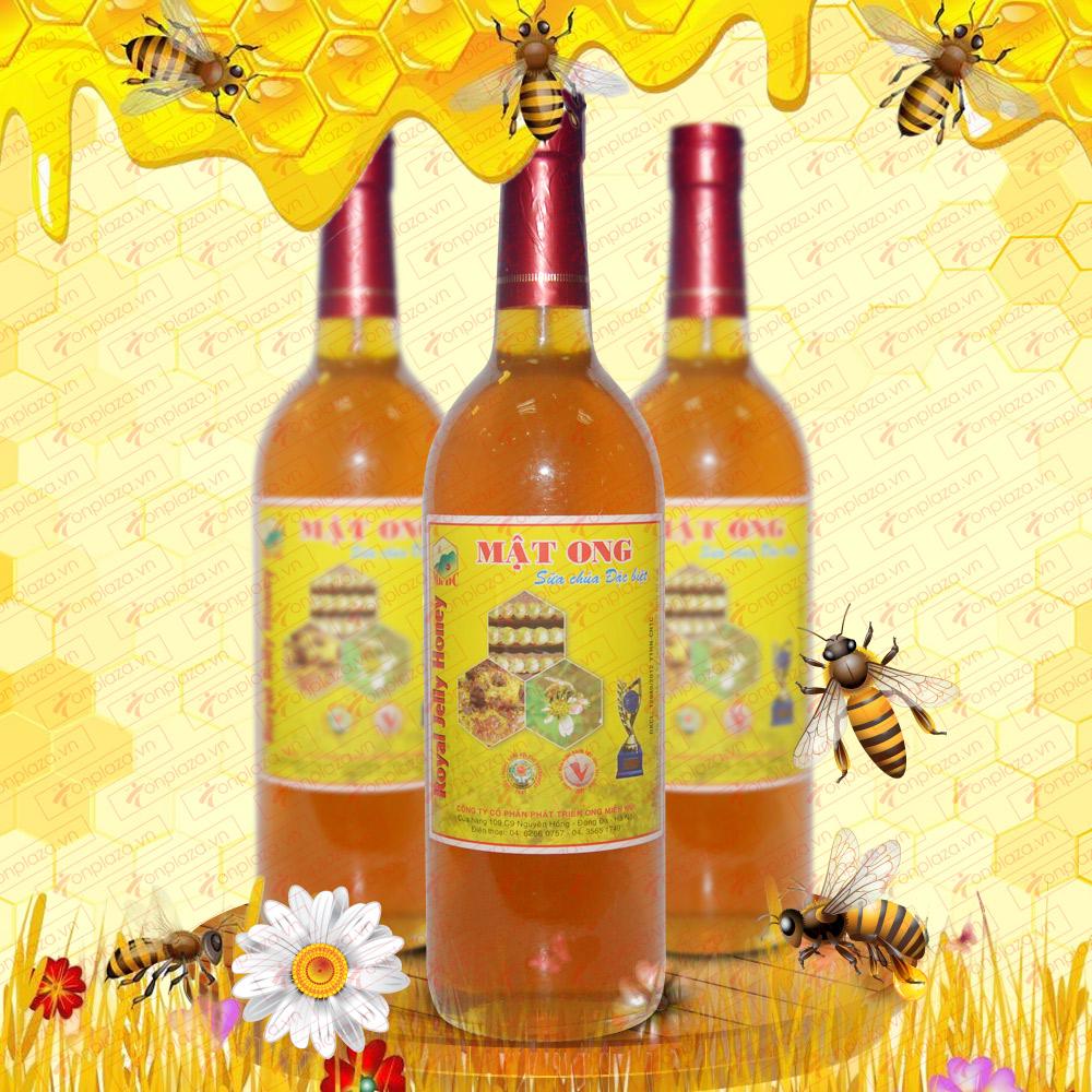 Mật ong rừng sữa chúa đặc biệt 1000 (Chai thủy tinh) MO008