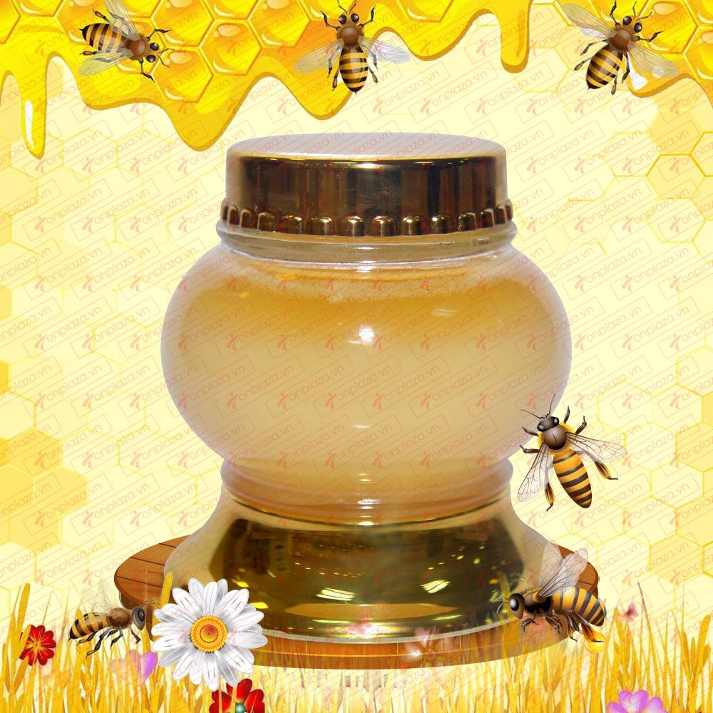 Mật ong trắng Nga Taiga 300ml K093