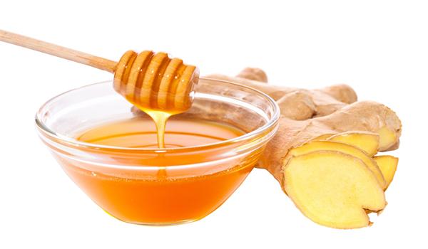 Mật ong và gừng trị ho hiệu quả